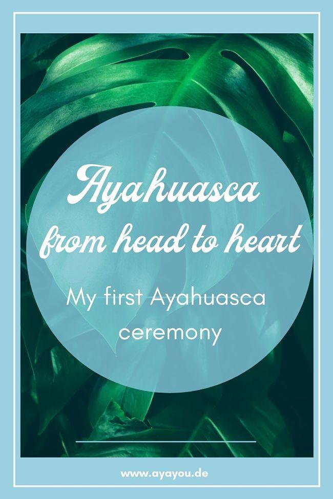 Ayahuasca first ceremony experience